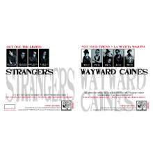 V/A Wayward Caines/The Strangers(US) - Split 7'EP Black