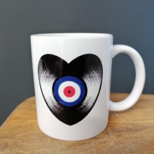 "Vinyl love affair - ""Mod Target"" - Tasse/Mug"