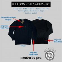 "Contra Streetwear - ""Bulldog - The Sweatshirt"" black lim.25edt"