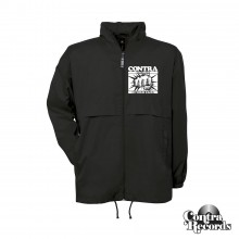"""Contra Records - """"In Your Face"""" - Windbreaker Jacket - black"""