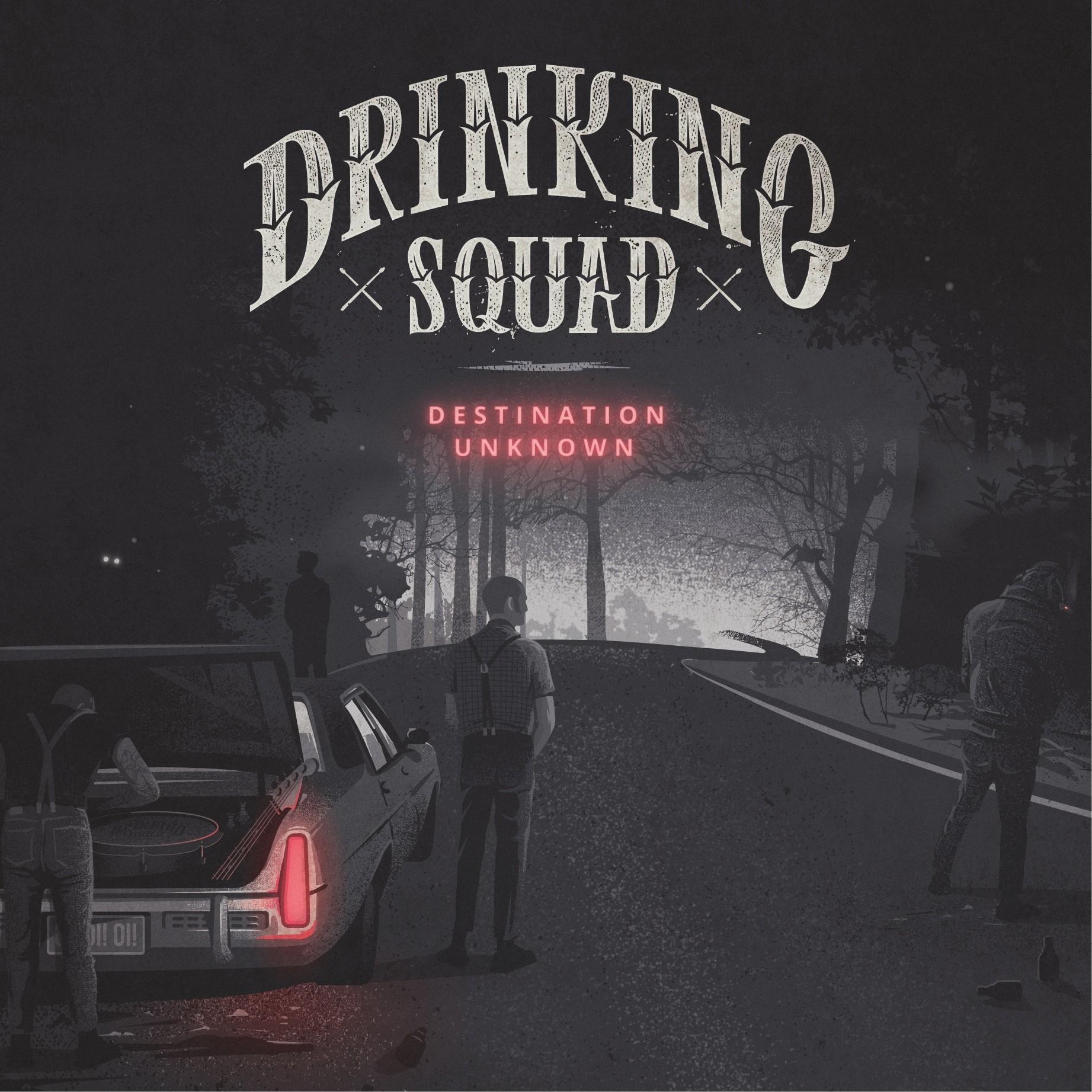 """Drinking Squad - """"Destination Unknown"""" 12""""LP"""
