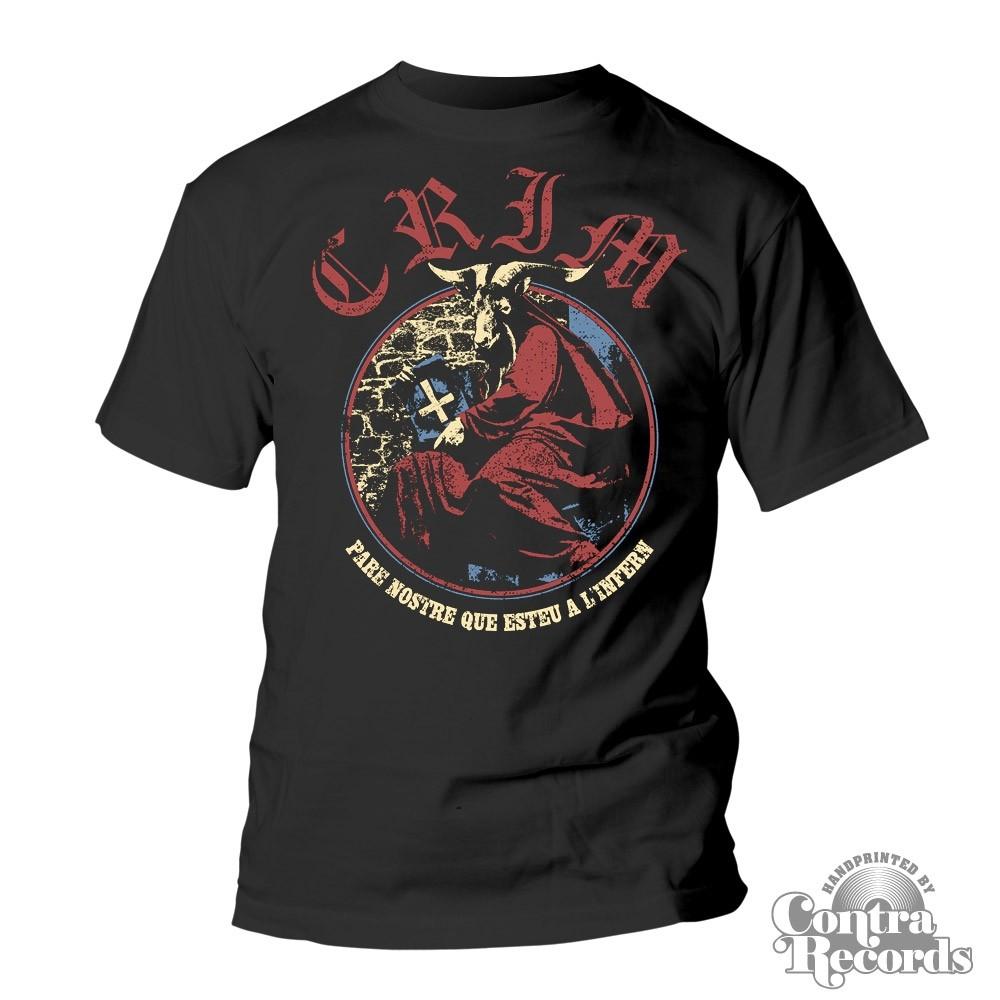 """CRIM -  """"Pare Nostre Que Esteu a l'Infern"""" T-Shirt"""