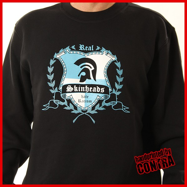 Real Skinheads black - Sweater