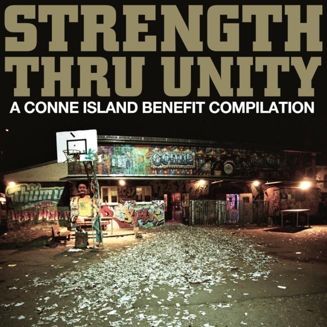 """V/A STRENGTH THRU UNITY -""""A Conne Island Benefit"""" 2x12""""LP lim.100 Contra edt.(PRE ORDER)"""
