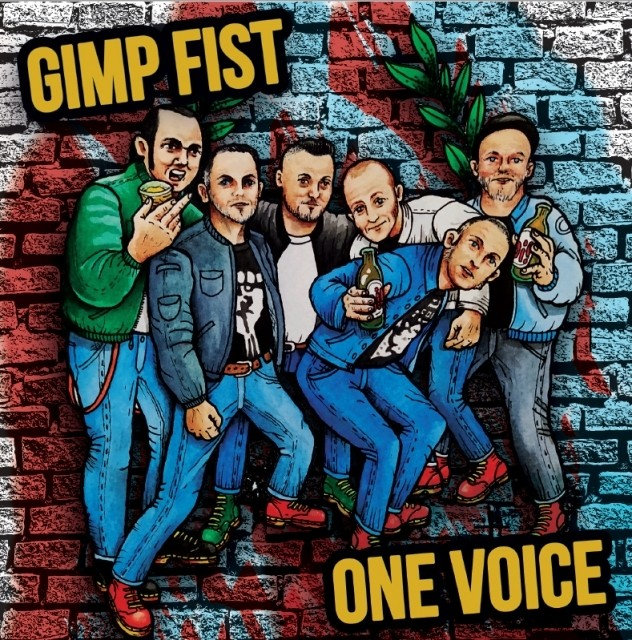 "V/A Gimp Fist / One Voice split 7""EP lim.200 black"
