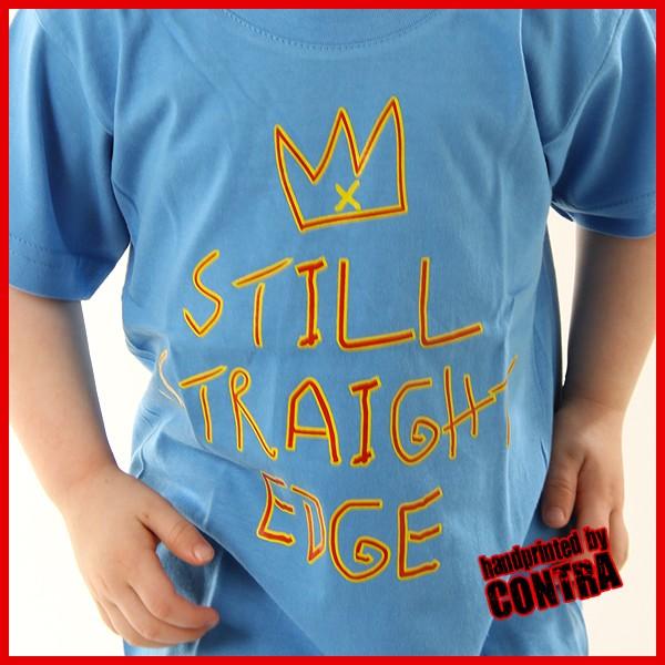 Still Straight Edge - Kids Shirt