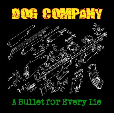 """Dog Company - A bullet for every lie 12""""LP+CD black"""