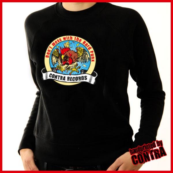 Contra Records - Kampfhahn neu - Girl Sweater