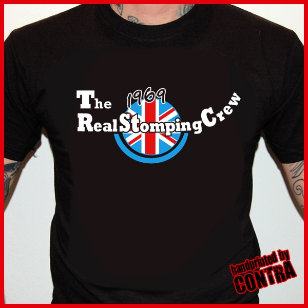 The Real Stomping Crew black - T-Shirt-S (last size!)