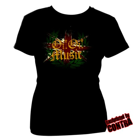 Oi! Oi! Music new - Girl Shirt-XS (last size!)