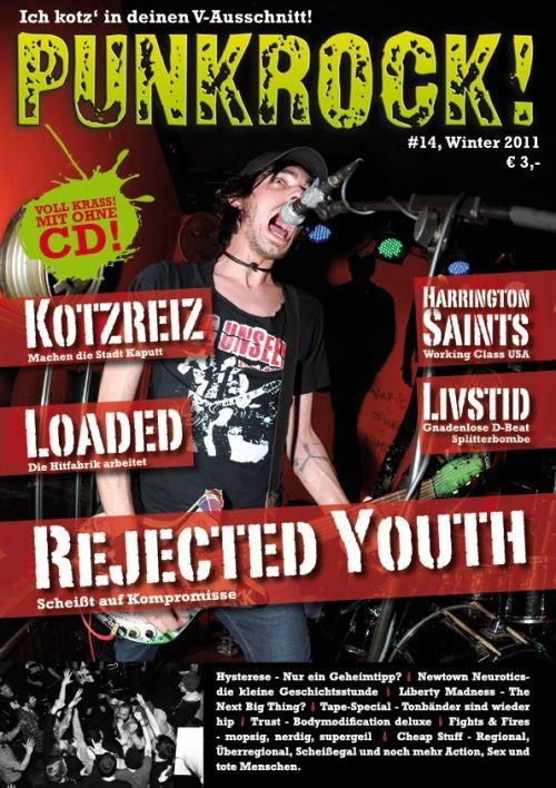 Fanzine - Punkrock#14 A4 Format