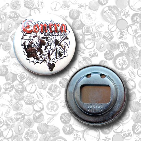 Contra Records - bottle opener (56mm)