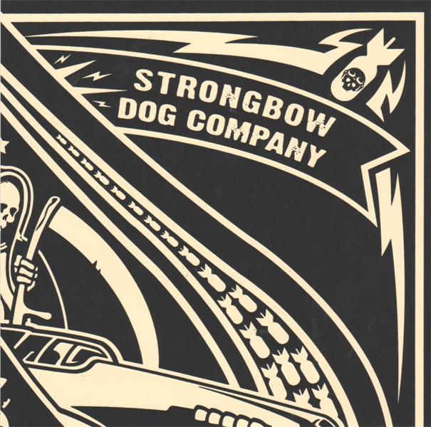 V/A Strongbow/Dog Company - Split 7'EP (Gold Splatter)