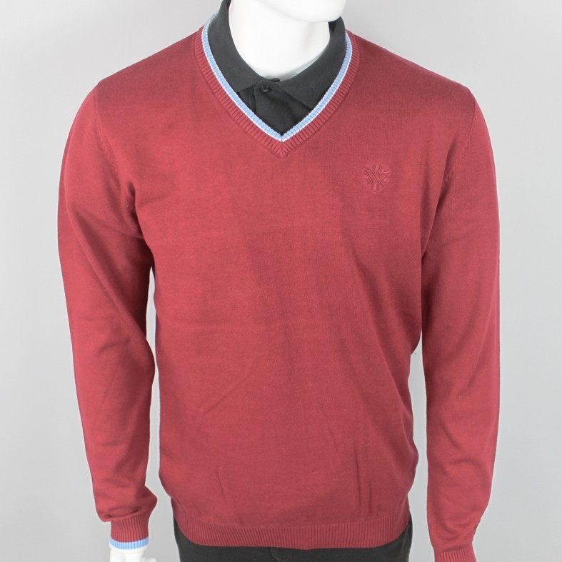 Warrior Clothing - Bordeaux - Pullover