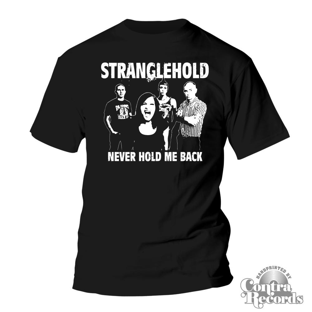 Stranglehold - Band- T-Shirt black