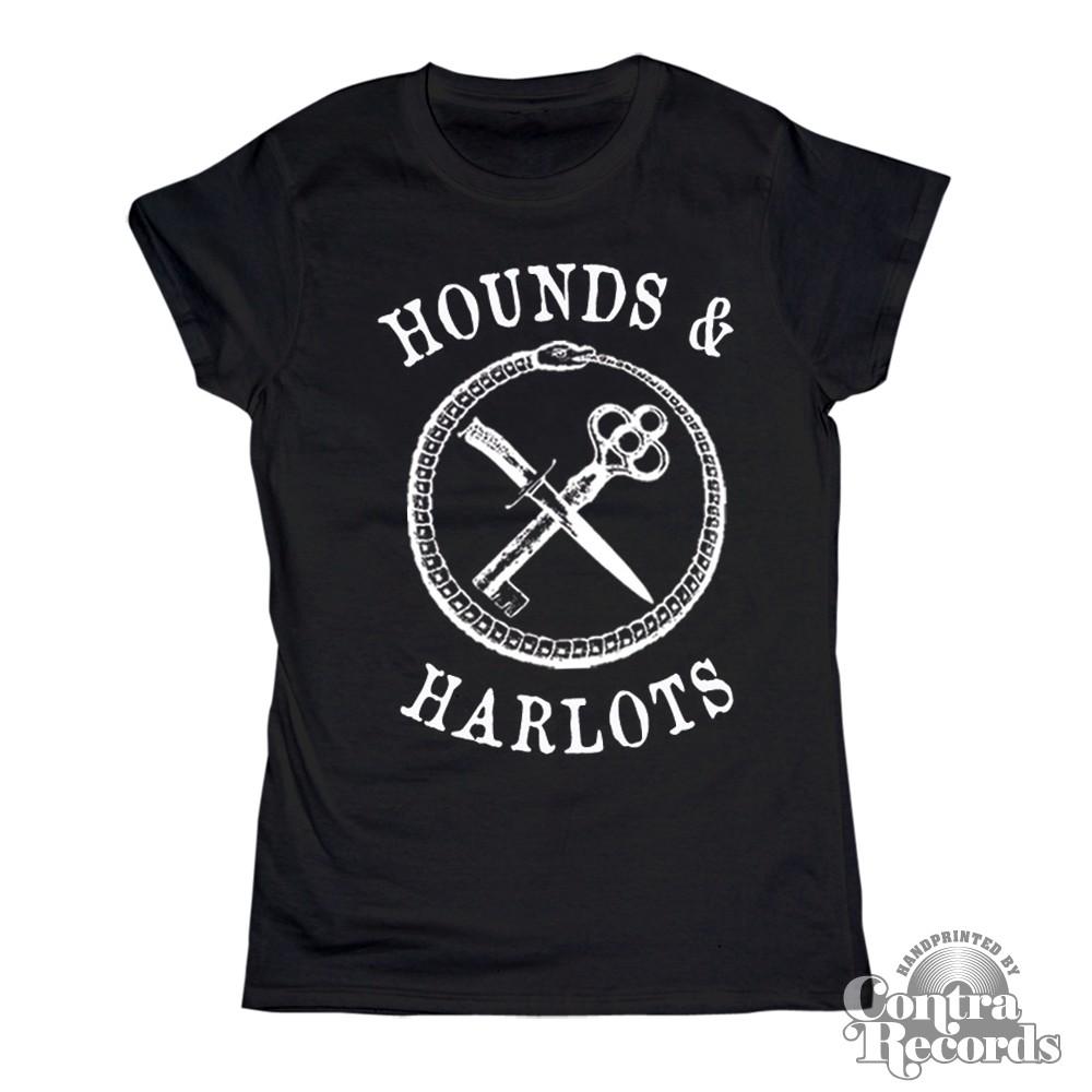 Hounds and Harlots - Girl Shirt - black