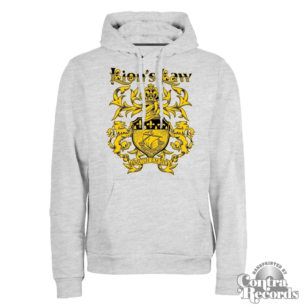 LION'S LAW - Hoody - grey-XXL (Last size!!!)