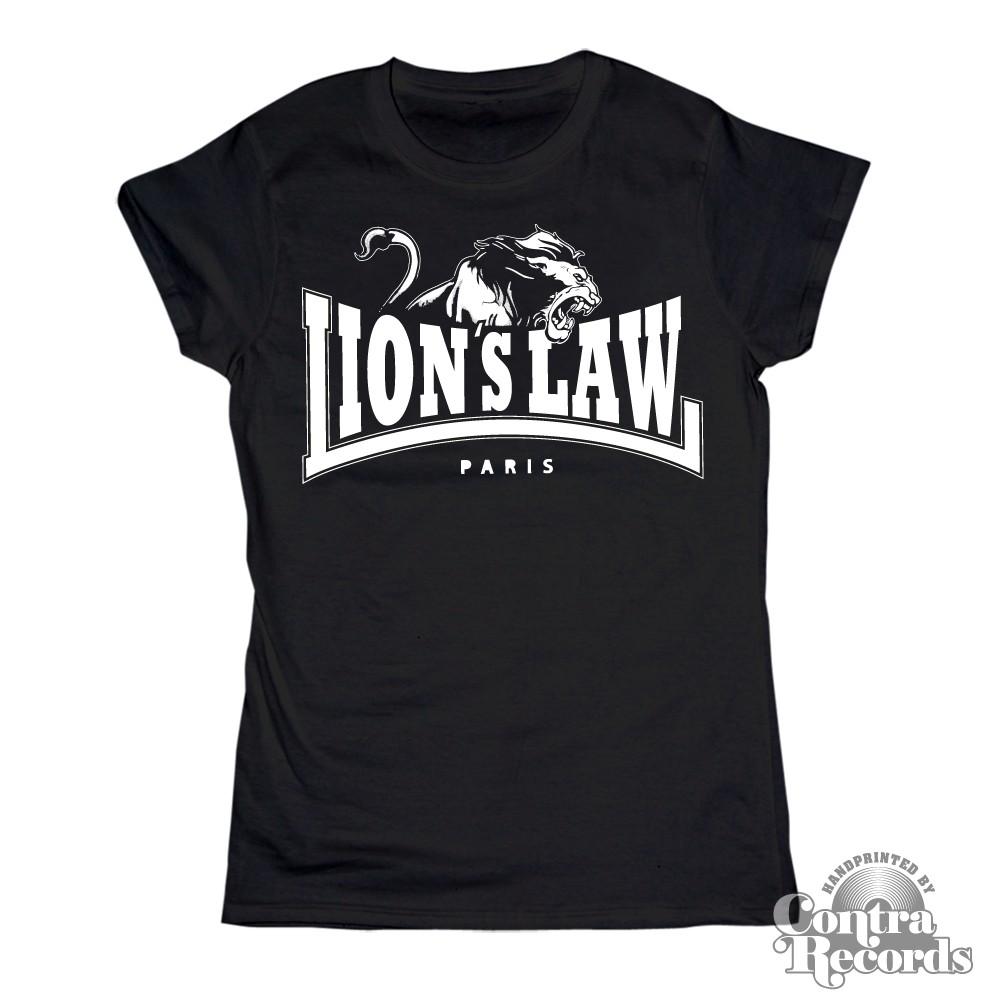 Lion's Law - LION - Girl Shirt - black