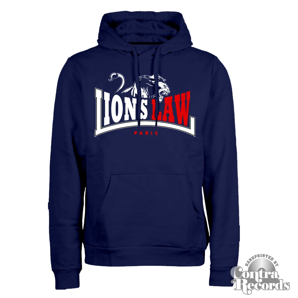 Lion`s Law - LION - Hoody - navy