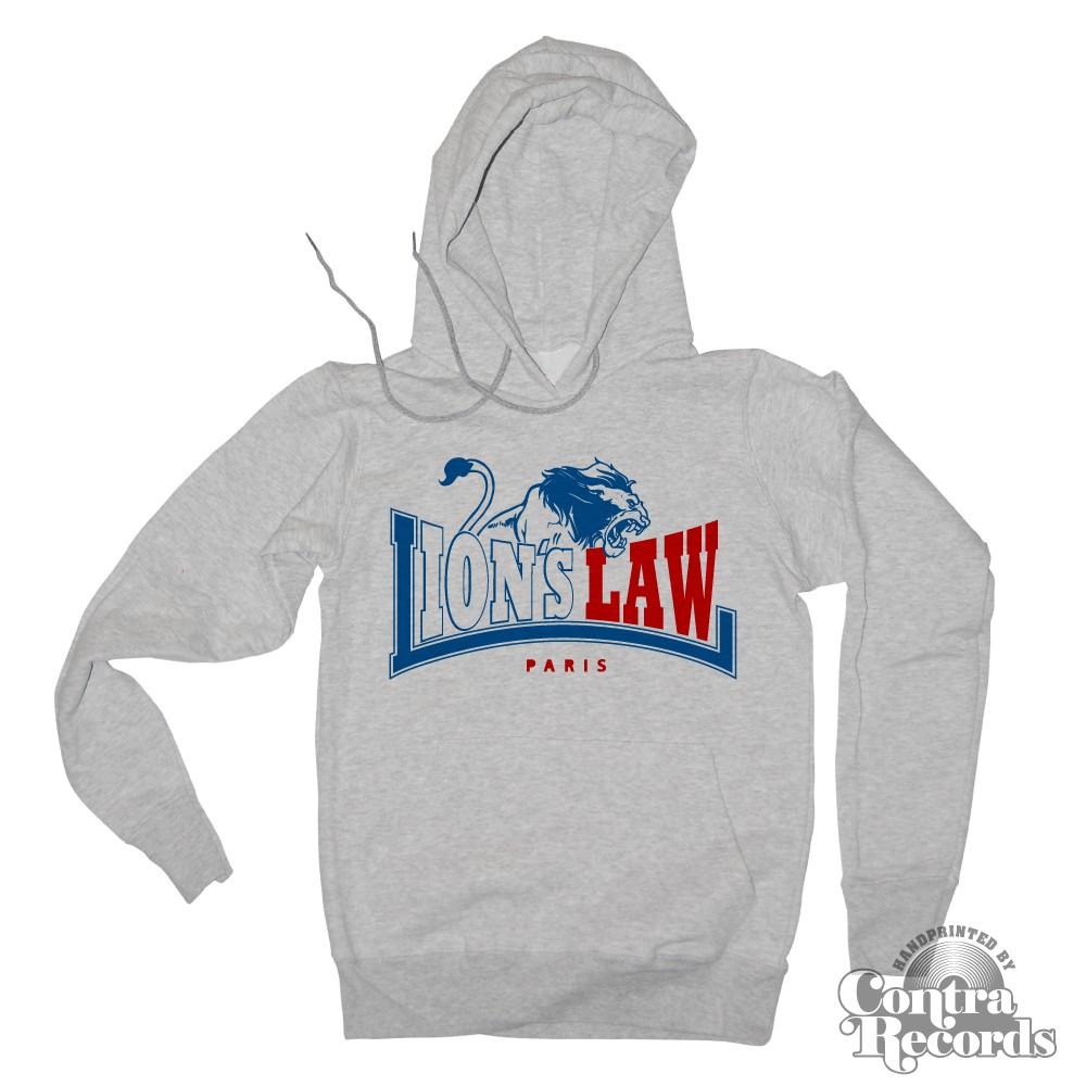 Lion`s Law - LION - Hoody - grey