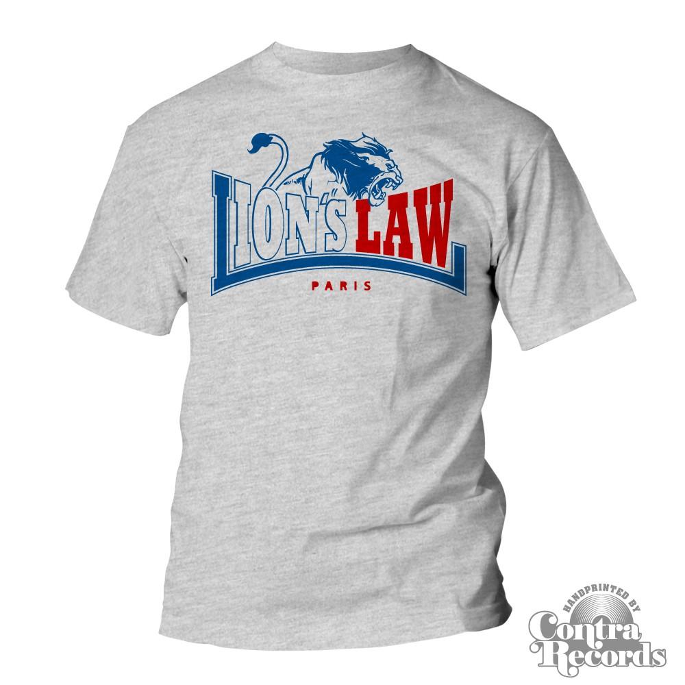 Lion's Law - LION - T-Shirt - grey