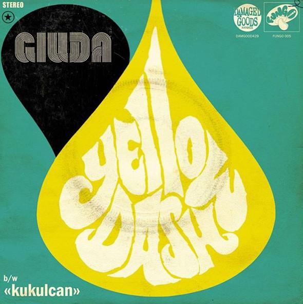 """Giuda - """"Yellow Dash"""" - EP 7"""" EP"""