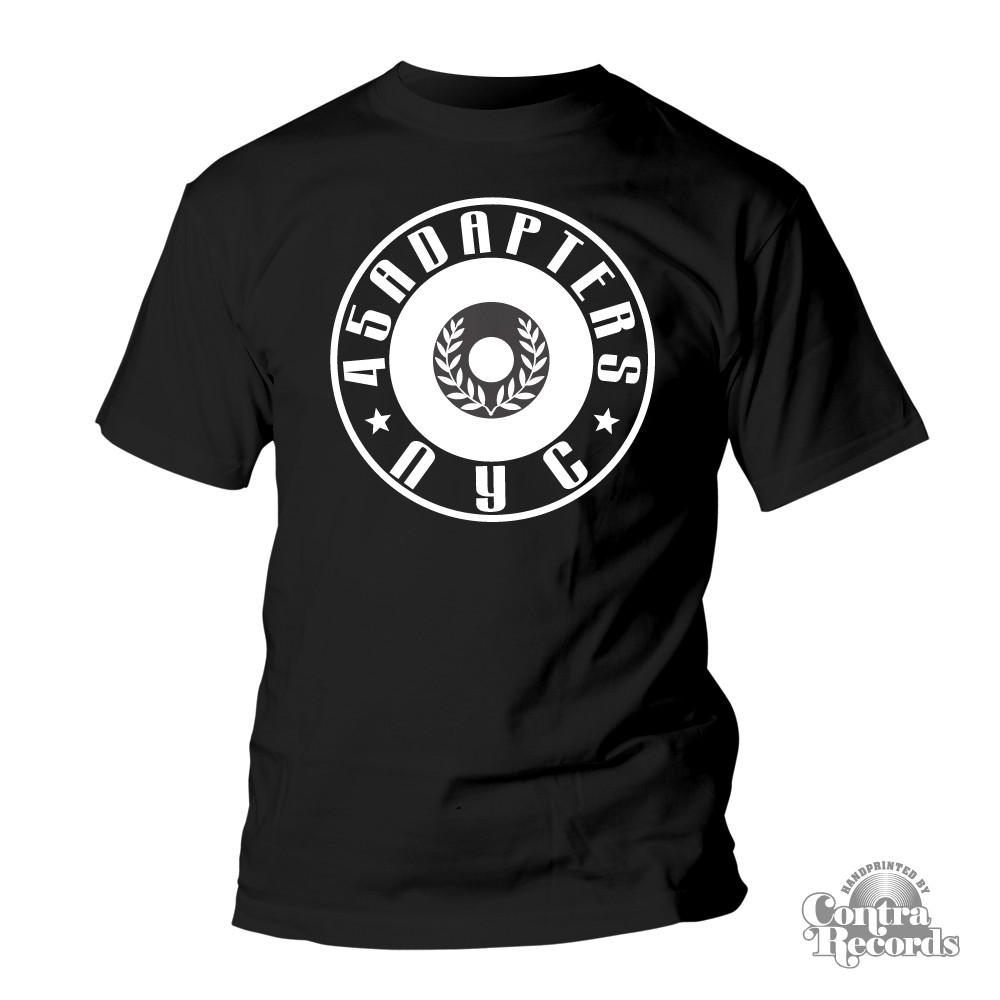 45 Adapters - T-Shirt - logo black-S