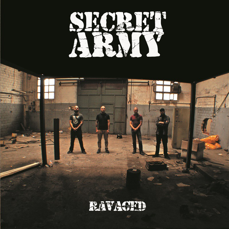 "SECRET ARMY -  Ravaged - 12"" LP, 200 lim.oxblood"