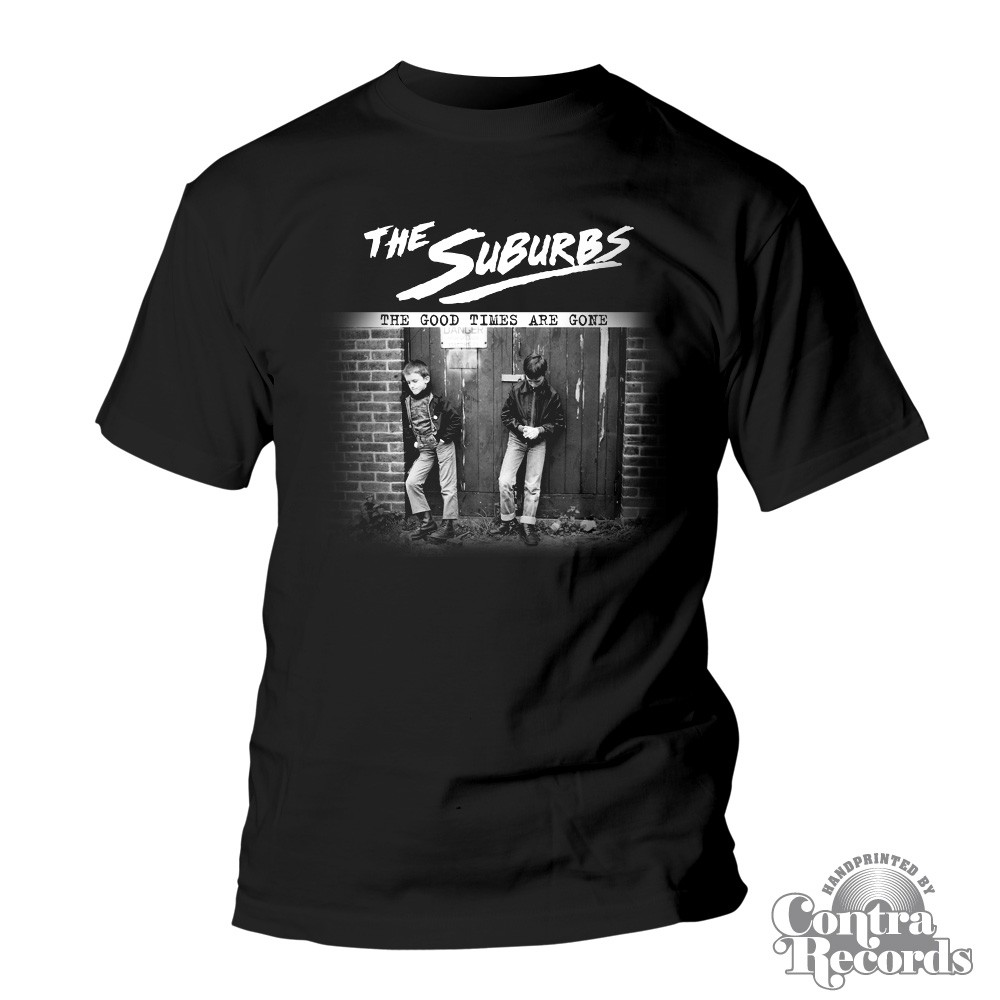 SUBURBS - The Good Times Are Gone - T-Shirt black