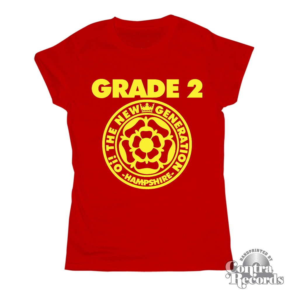 Grade 2 - Oi! the new Generation - Girl Shirt - red