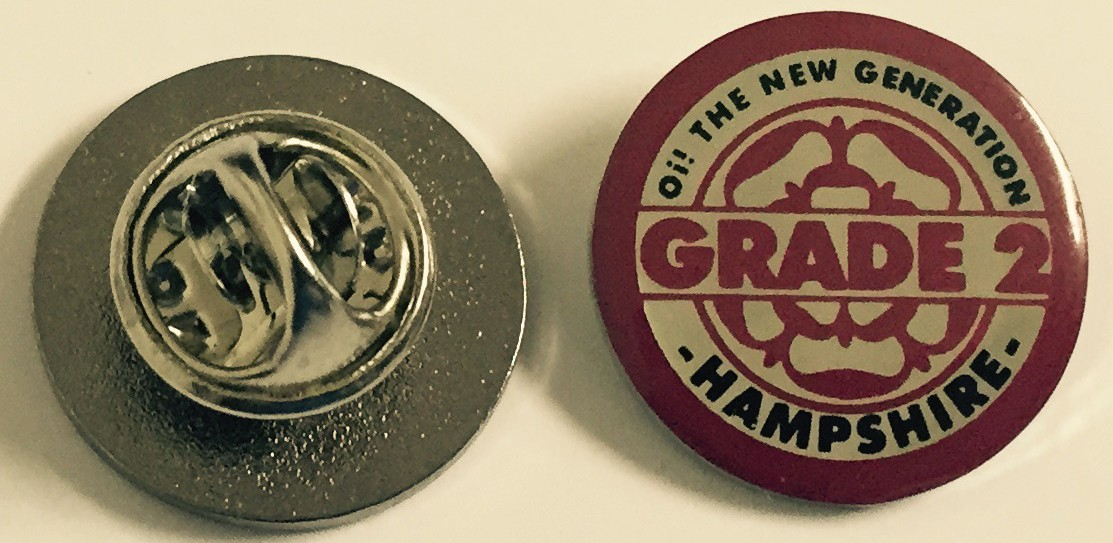 """Grade 2 - """"Oi! The New Generation"""" - Metal-Pin"""