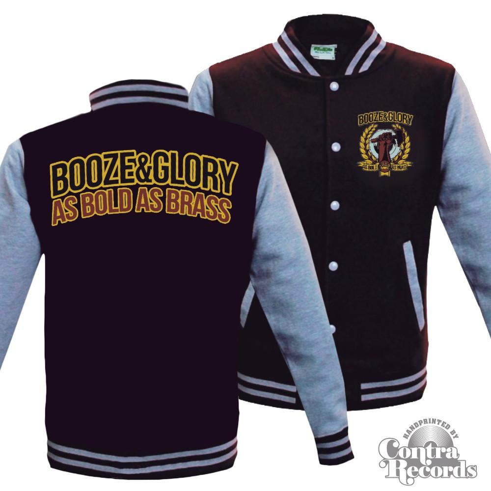 Booze & Glory - Varsity Jacket (last sizes!)