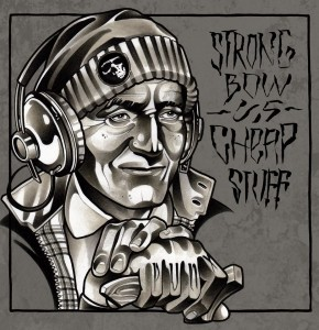 "V/A Strongbow vs. Cheap Stuff - split 10""LP + 2 Band Pins"