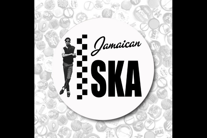 Jamaican Ska-Button 37mm