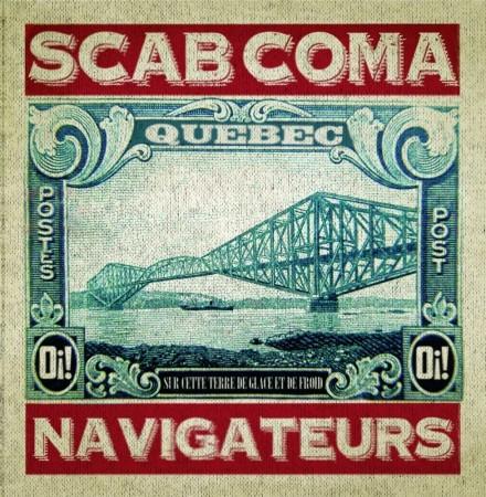 """SCAB COMA - NAVIGATEURS - 7"""" EP, lim.100 black"""