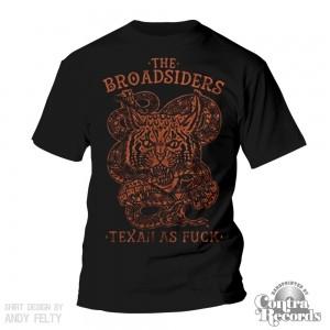 Broadsiders,the - texasstyle - T-Shirt black