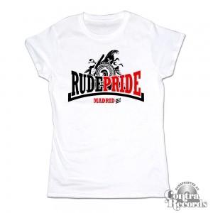 Rude Pride - Trojan - Girl Shirt - White