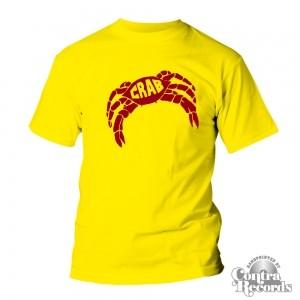 Crab logo - T-Shirt Yellow