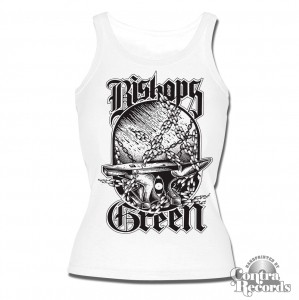 Bishops Green - Anvil - Girl Tank Top White