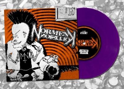 "V/A Mette Nenschen/Normenkollision- S/t 7""EP lim.100 Purple"