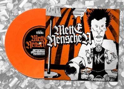 """V/A Mette Nenschen/Normenkollision- S/t 7""""EP lim.100 Orange"""