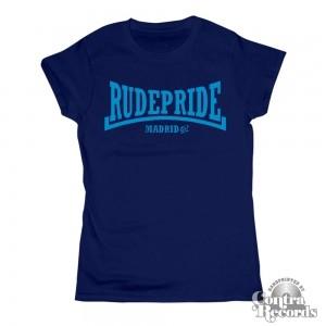 Rude Pride - Girl Shirt - Navy Blue