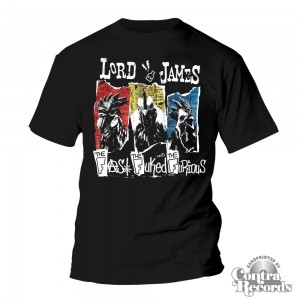 Lord James - The Fast,the Fuked...- T-Shirt Black