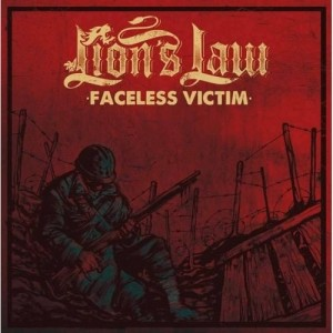 """Lion's Law - faceless victim 7""""EP RED COVER col. Vinyl"""