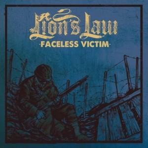 """Lion's Law - faceless victim 7""""EP BLUE COVER col. Vinyl"""