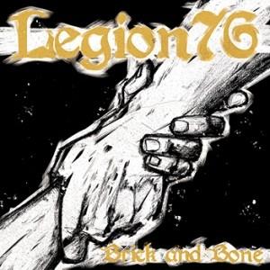 "Legion 76 - ""Brick and Bone"" - 7"" EP+Download,Splatter (repress)"