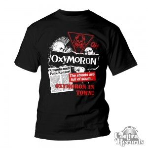 Oxymoron - Oxymoron in Town! -T-Shirt black