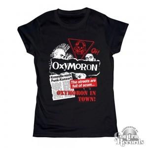 Oxymoron - Oxymoron in Town! -Girl Shirt black