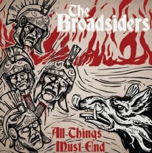 "BROADSIDERS,THE-ALL THINGS MUST END 12""GF-LP lim.106 red/bone"