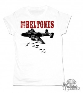 Beltones,The - Bombs - Girl Shirt white